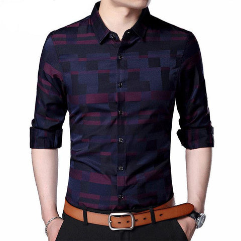 Image of MEN'S BUSINESS CASUAL LONG-SLEEVE SHIRT