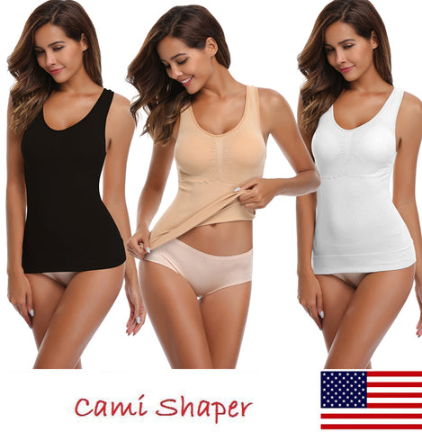 SLIMMING UNDERWEAR BODYSUIT WAIST TRAINER BODY SHAPER - SLIMMING CORSET - CAMI TANK TOP