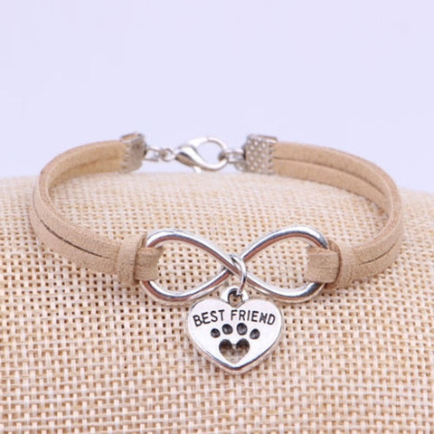 Image of DOG - CAT PAW CHARM BRACELET
