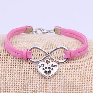 DOG - CAT PAW CHARM BRACELET