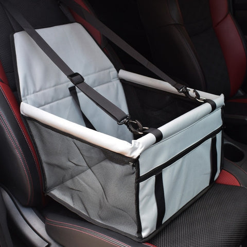 Image of Travel Dog Car Seat Cover Folding Hammock Pet Carriers Bag Carrying For Dogs/Cats