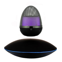 Wireless Bluetooth Levitating Floating Speaker with Multi-Color LED