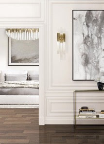 WATERFALL 6-LIGHT WALL SCONCE by LUXXU at Luxury Lighting Boutique