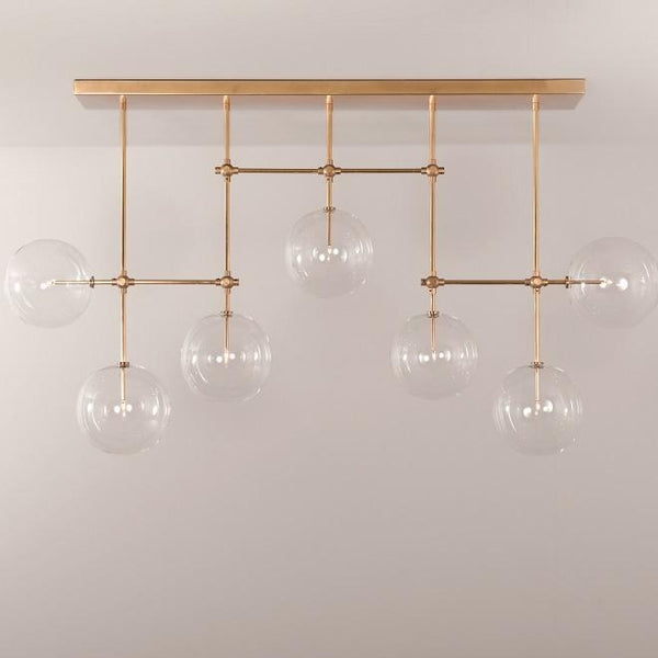 7 Light Soap B7 Chandelier Large - Schwung-Luxury Lighting Boutique