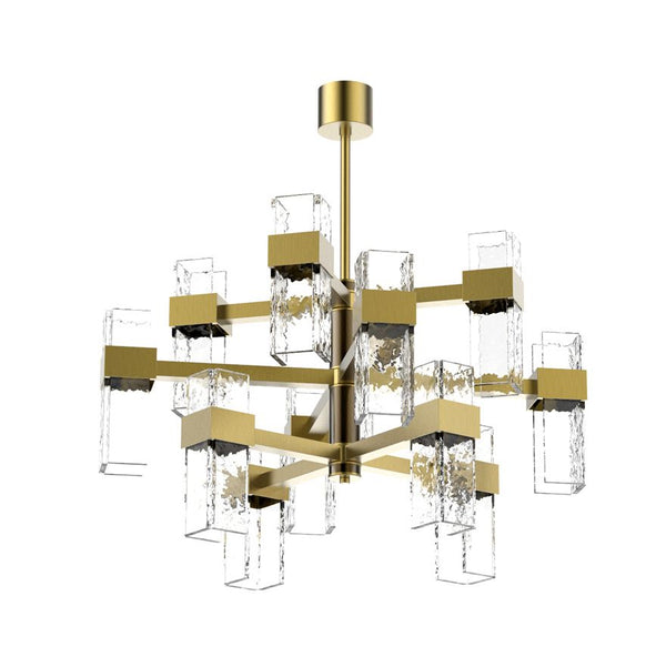 Waterfall 12-Light Pendant Chandelier - Villa Lumi