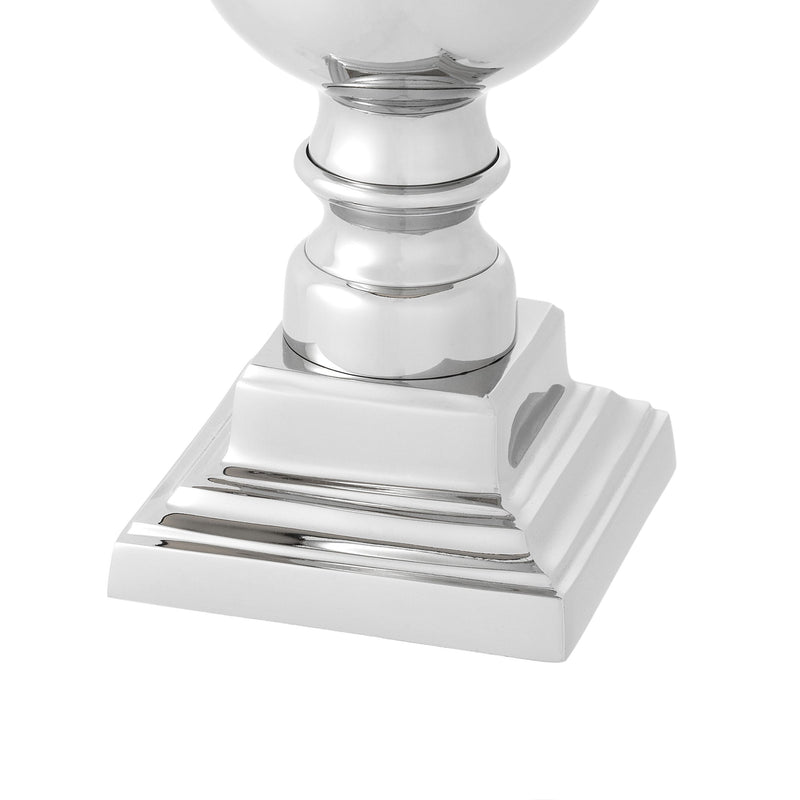 Trophy Nickel Table Lamp - Eichholtz