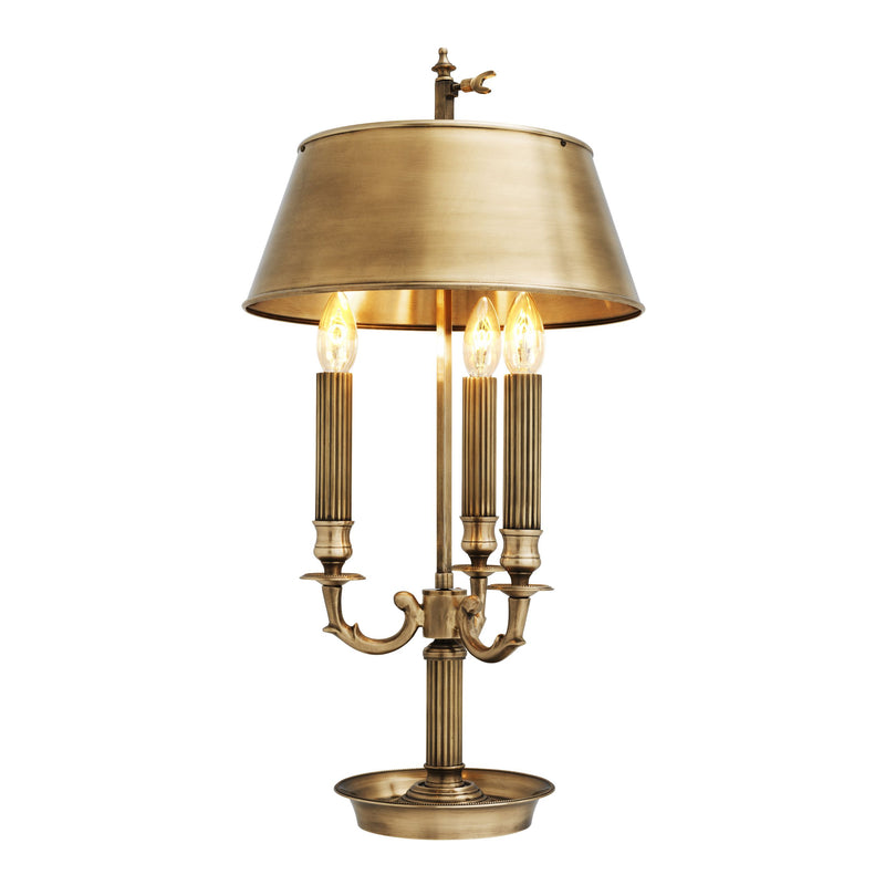 Beauville Table Lamp - [Brass] - Eichholtz