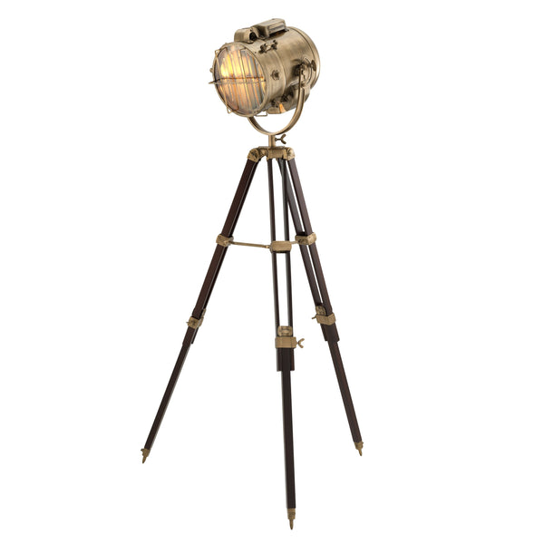 Atlantic Brass/Nickel Floor Lamps - Eichholtz