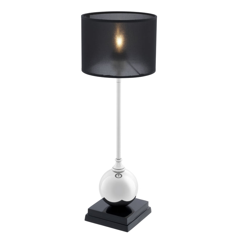 Carnivale Nickel Table Lamp - Eichholtz