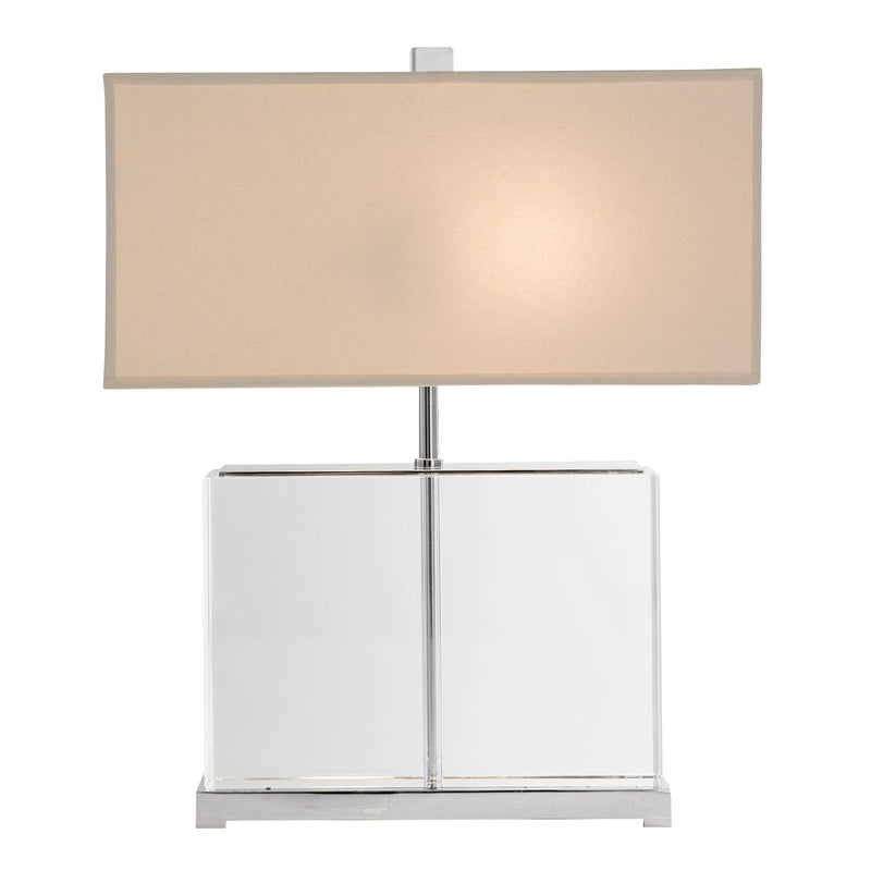 Warwick Table Lamp - [Crystal&Nickel] - Eichholtz