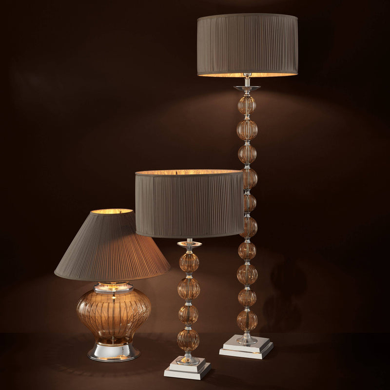 Valence Table Lamp - [Nickel] - Eichholtz