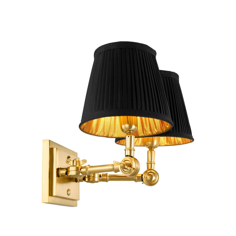 Wentworth Wall Lamps[Single/Double] - [Gold/Nickel] - Eichholtz