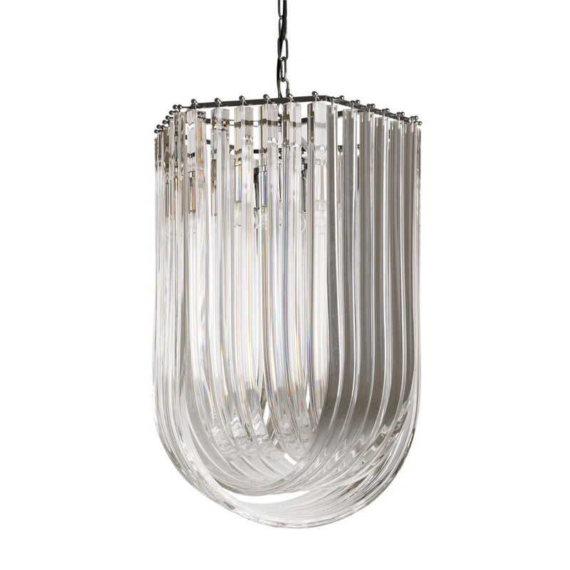 Caserta Chandelier - [Nickel] - Eichholtz