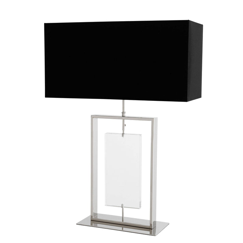 Forum Nickel Table Lamp - Eichholtz