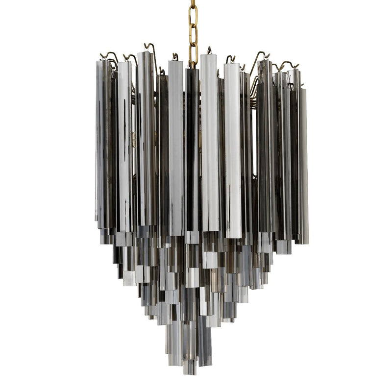 Salerno Smoke Chandelier - Eichholtz