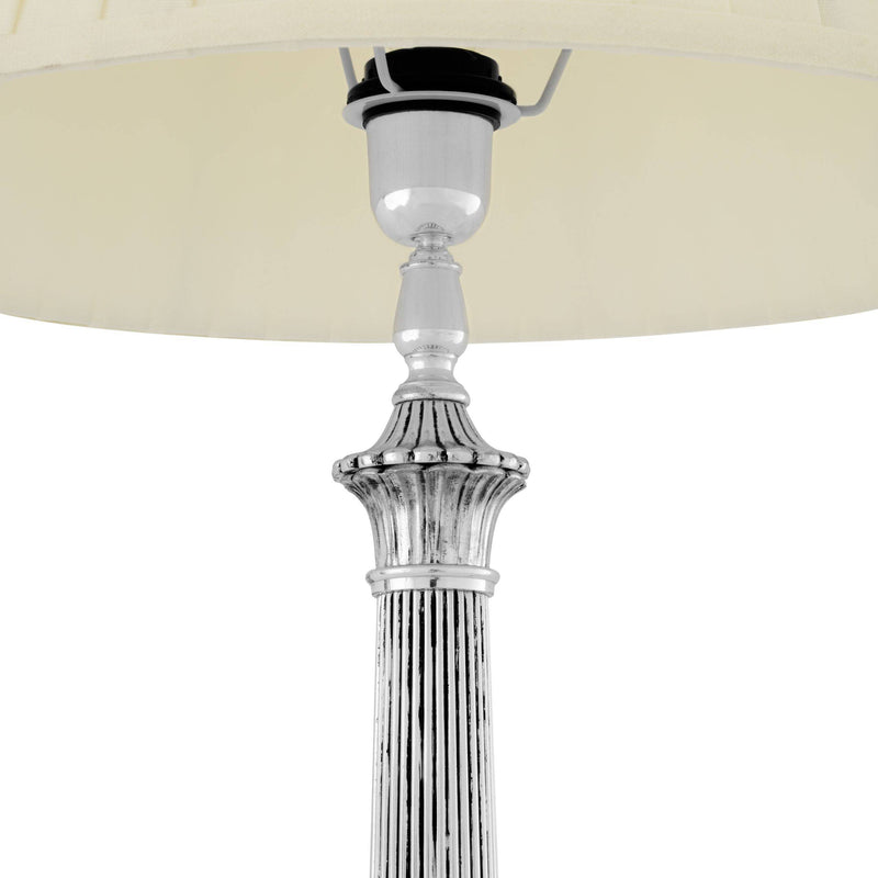 Marchand Silver Table Lamp - Eichholtz