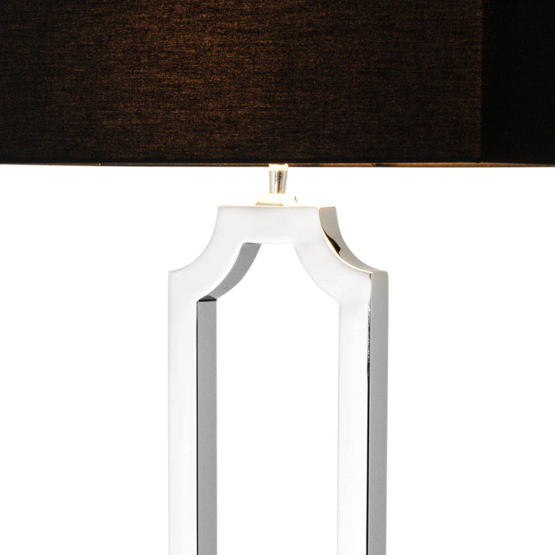 Sterlington Nickel Floor Lamp - Eichholtz