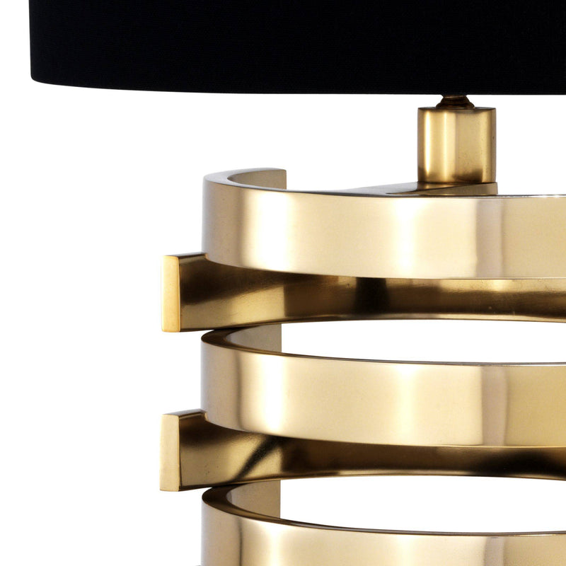 Boxter Table Lamps[S/L] - [Gold/Nickel] - Eichholtz
