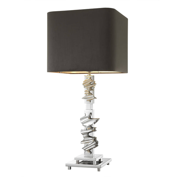 Abruzzo Brass/Nickel Table Lamps - Eichholtz