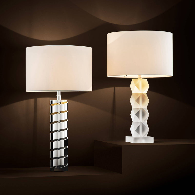 Whealon Table Lamp - [Glass] - Eichholtz