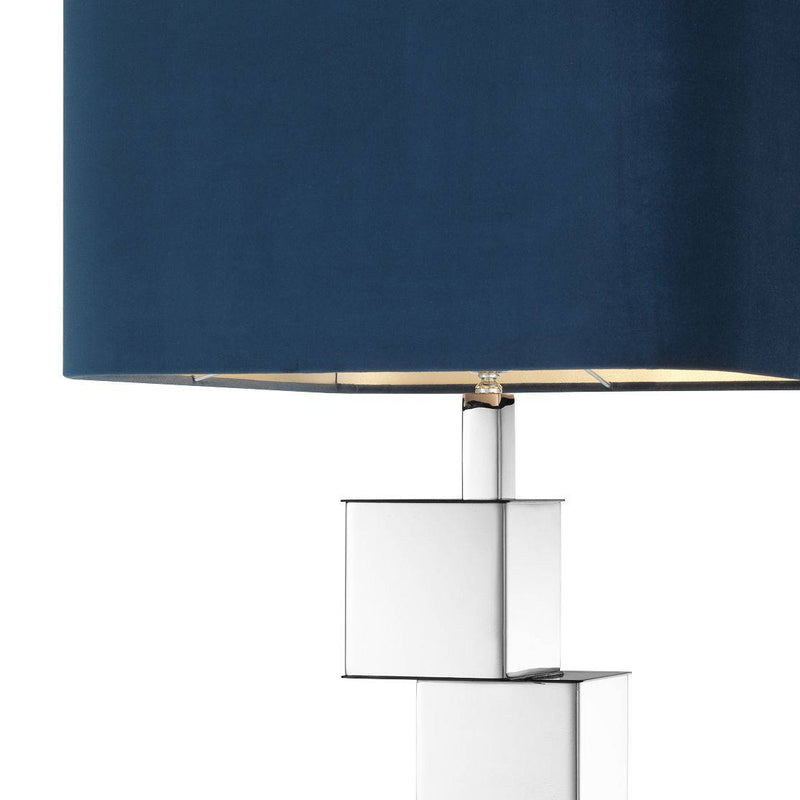 Sirena Nickel Table Lamp - Eichholtz