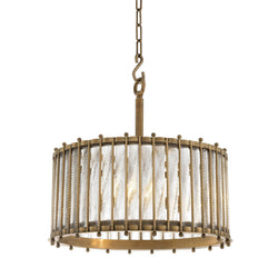 Tiziano Single Brass Lantern - Eichholtz