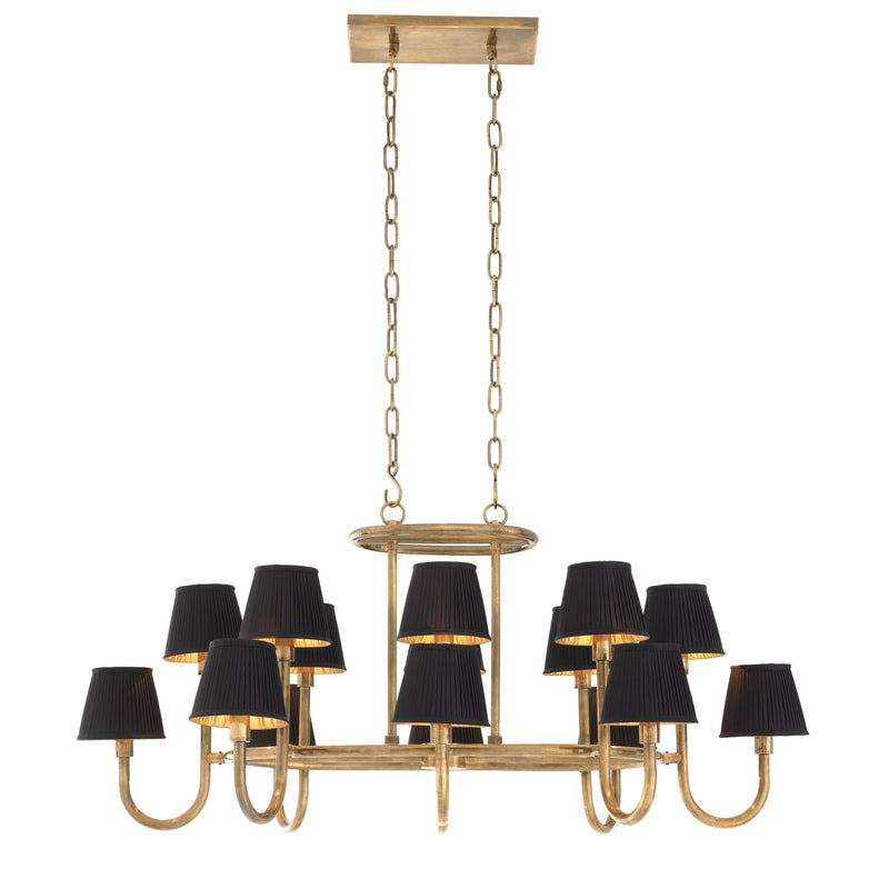 Sparrows Vintage Brass Chandelier - Eichholtz