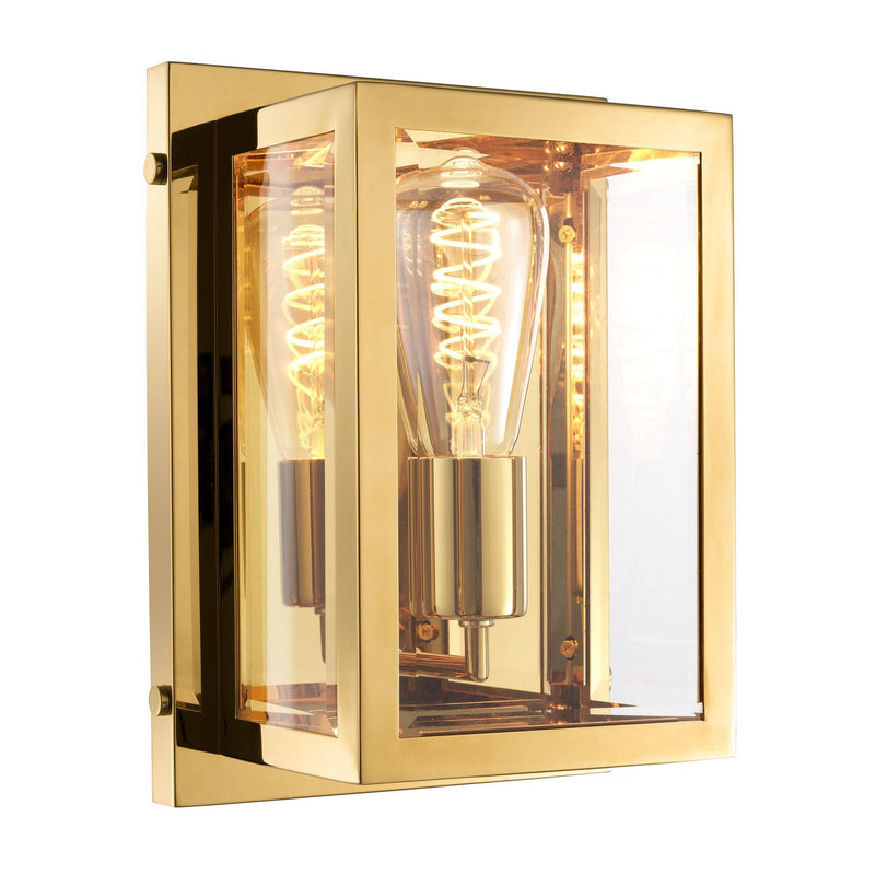 Odeon Gold Wall Lamp - Eichholtz