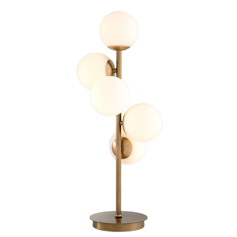 Libris Antique Brass Table Lamp - Eichholtz