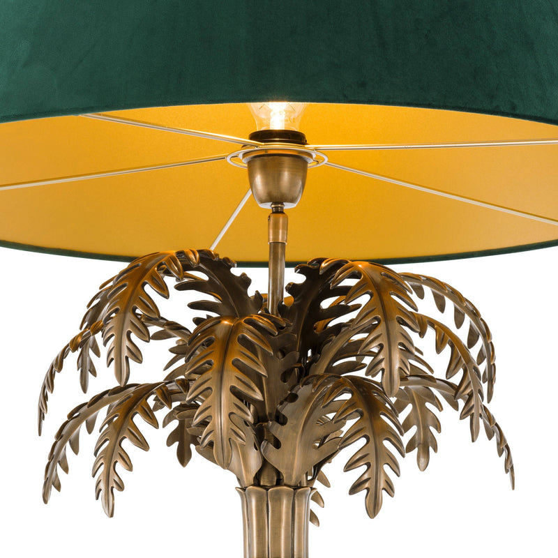Desert Star Brass Table Lamp - Eichholtz