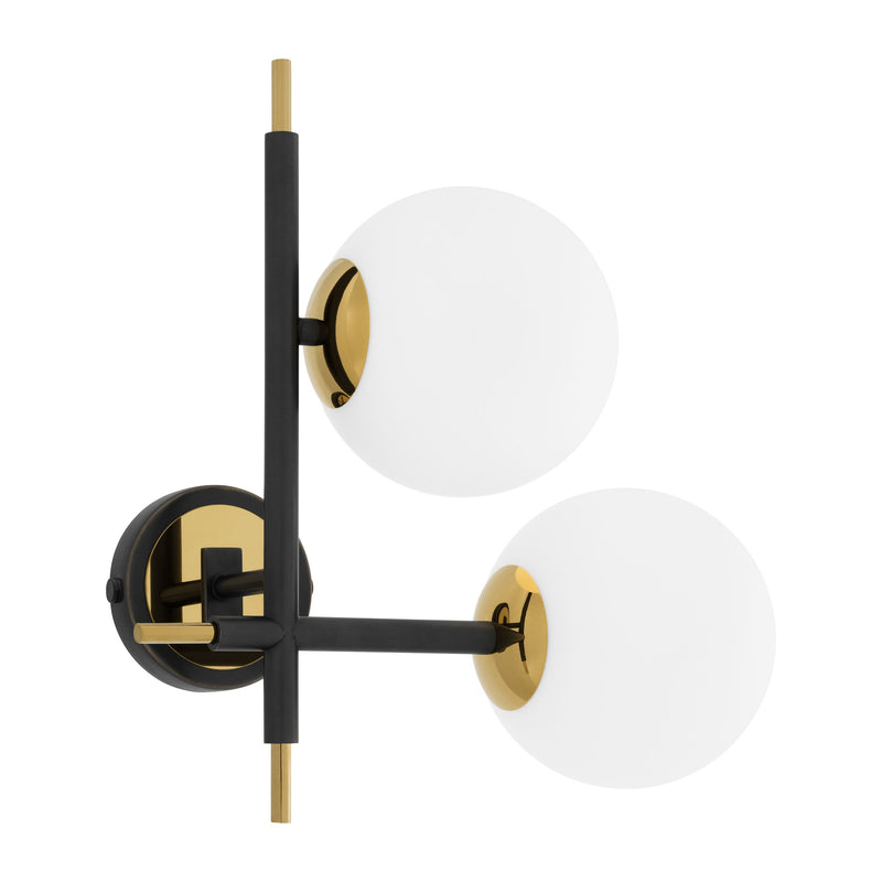 Senso Left Gold Wall Lamp - Eichholtz