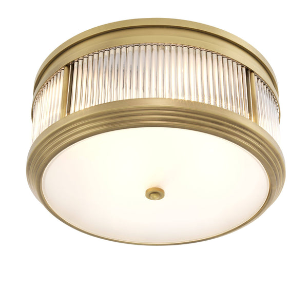 Rousseau Flush Mount Ceiling Light - [Brass/Bronze/Nickel] - Eichholtz