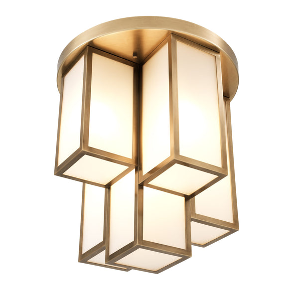 Axel Flush Mount Ceiling Light - [Brass] - Eichholtz