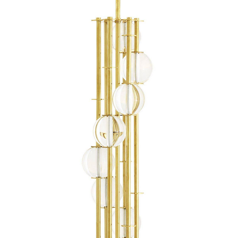 Lorenzo Table/Floor Lamps - [Gold/Nickel] - Eichholtz