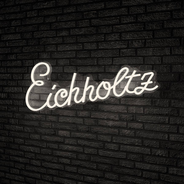 """Eichholtz"" LED Wall Text - [White] - Eichholtz"