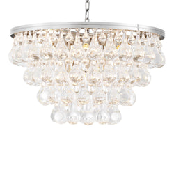 Bolzano Glass Chandelier - [Nickel/Brass] - Eichholtz