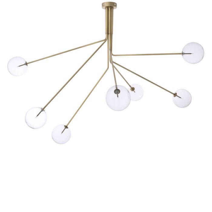 Topaz Chandeliers - [Brass/Nickel/Bronze] - Eichholtz