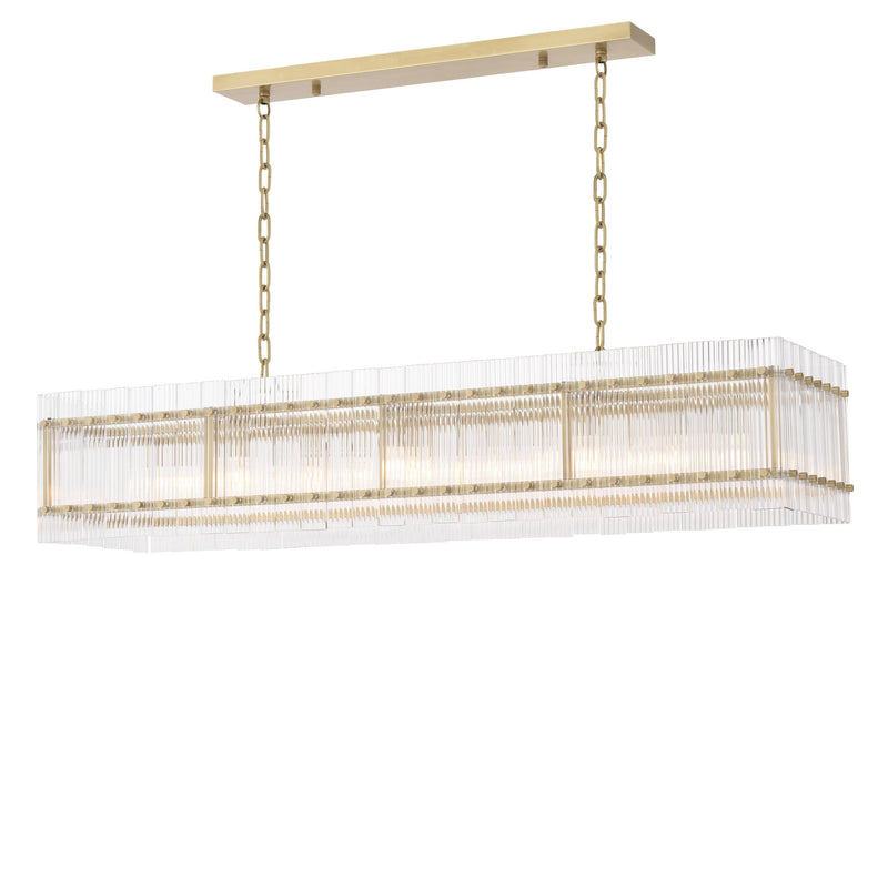 Ruby Rectangular Chandelier - Eichholtz