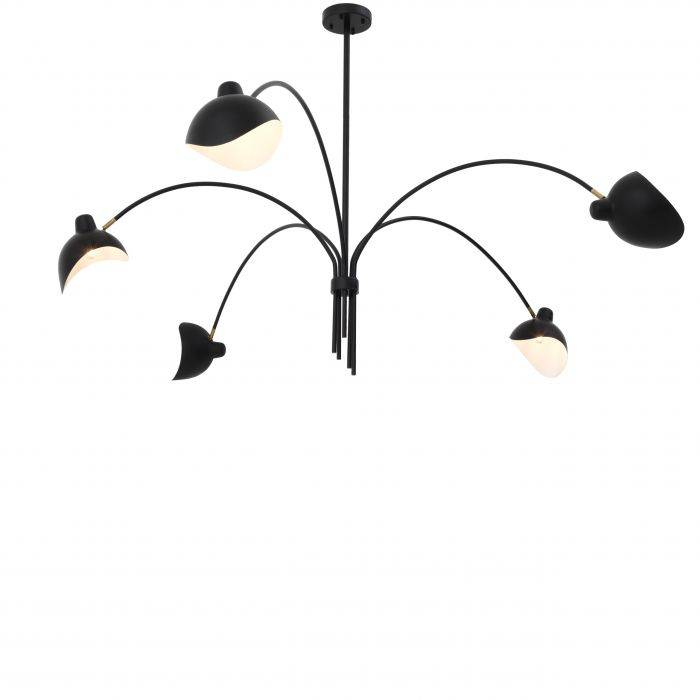 Kirby Chandelier - [Black] - Eichholtz