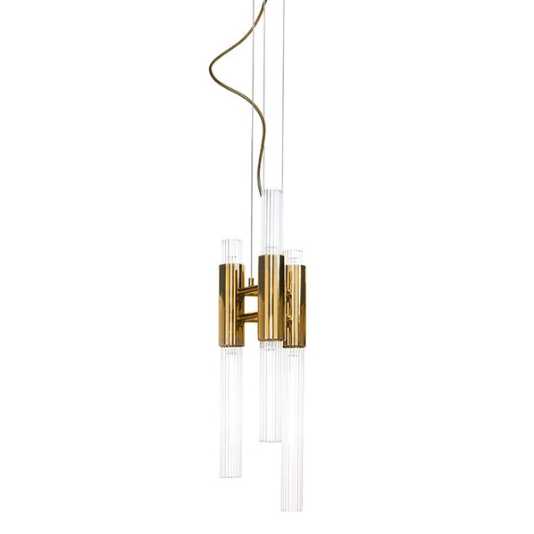 6 Light Waterfall Pendant - Luxxu-Luxury Lighting Boutique