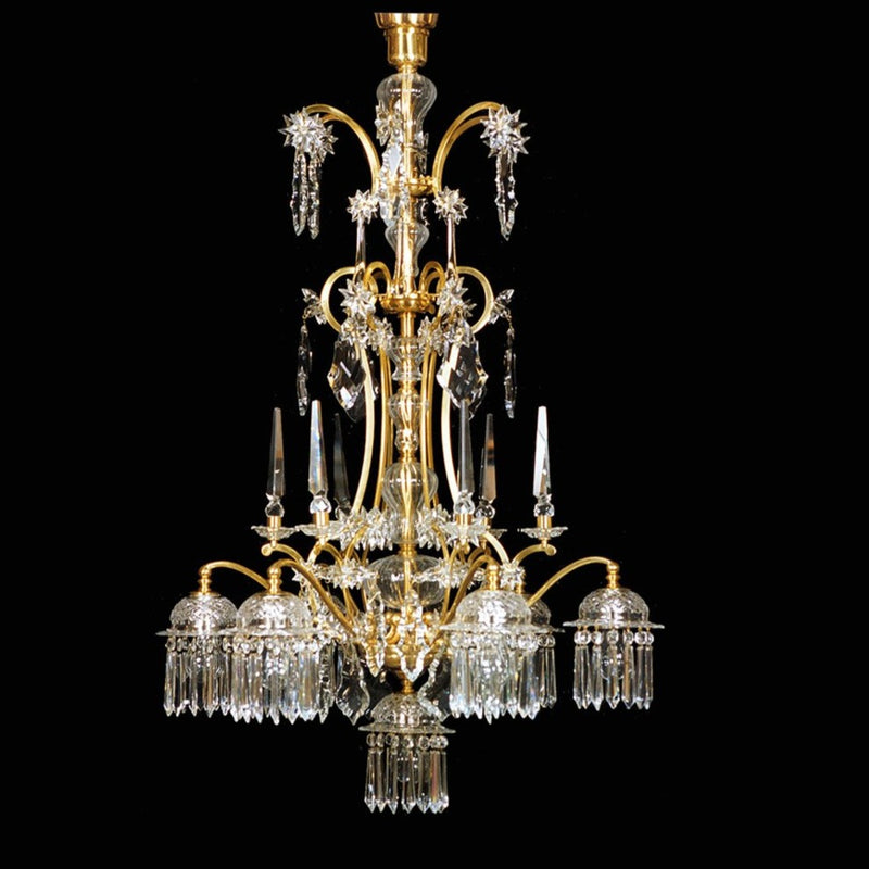 Anna Sacher 7 Light Chandelier - Lobmeyr