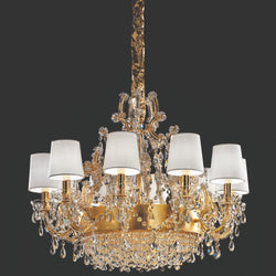 13 Light Maria Theresa Chandelier - Masiero