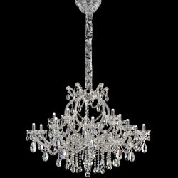 15 Light LED Marie Therese Chandelier - Masiero VE 989/15 RW/DW