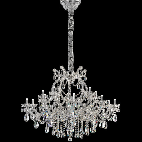 15 Light LED Marie Therese Chandelier - Masiero VE 989/15 RW/DW-Luxury Lighting Boutique