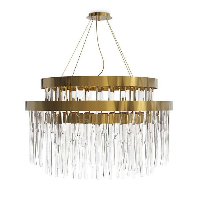 24 Light Babel Suspension Chandelier - Luxxu