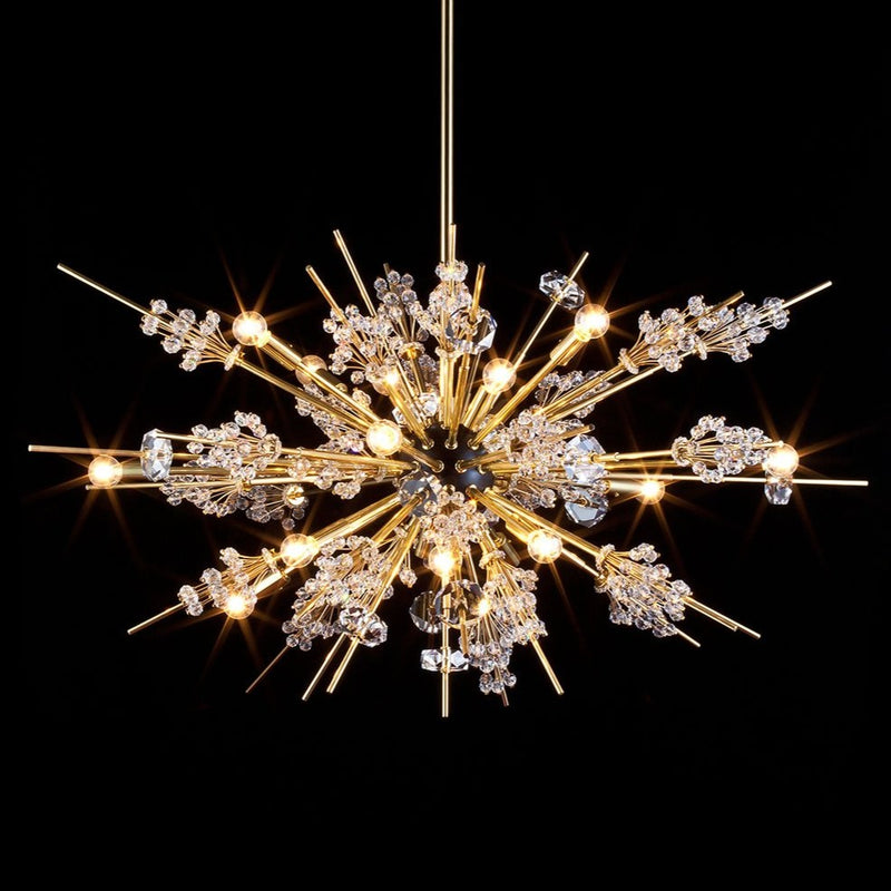 16 Light Met Auditorium Chandelier - Lobmeyr-Luxury Lighting Boutique