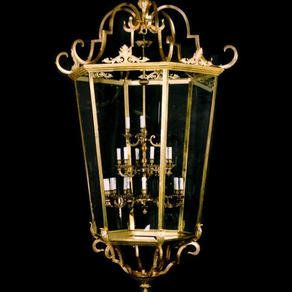 21 Light Hall Lantern - Martinez Y Orts