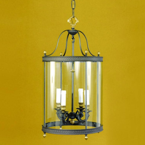 4 Light Grey Hall Lantern - Martinez Y Orts