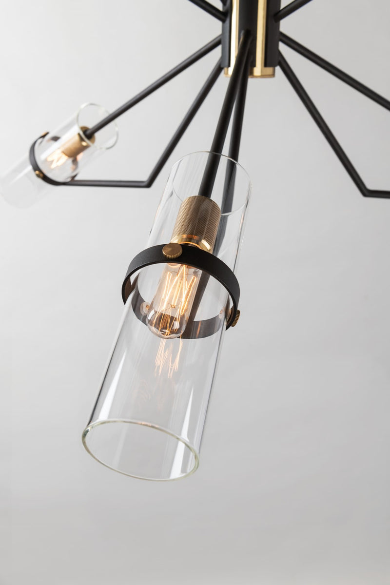 Raef Chandelier - F6318-CE - Troy Lighting