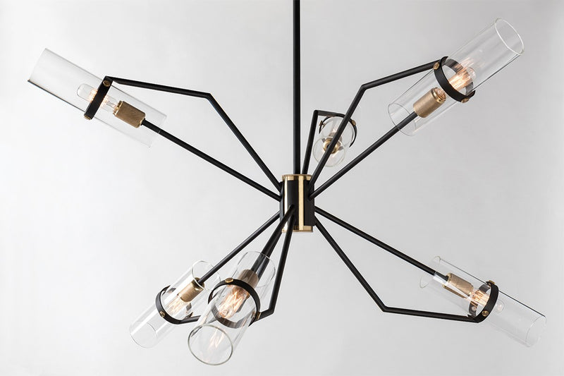 Raef Chandelier - F6316-CE - Troy Lighting